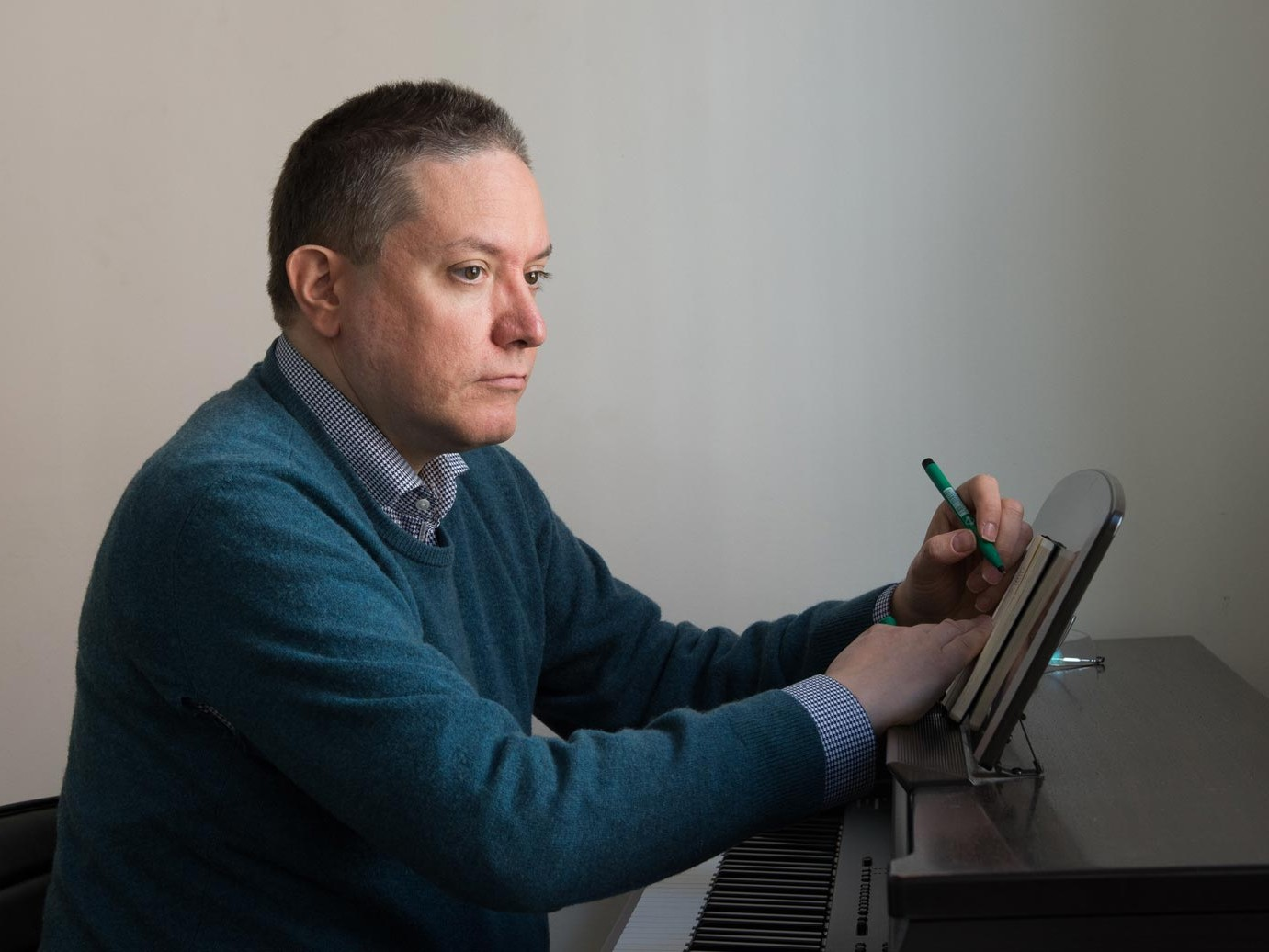 Julian Anderson, composer – Macbeth Media Relations – Photo John Batten